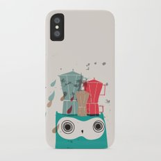 Owl Aloud Slim Case iPhone X
