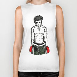 Boxing Man Biker Tank