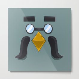 Animal Crossing Brewster Metal Print