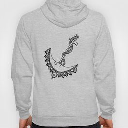 Anchored By The Moon and Stars Hoody