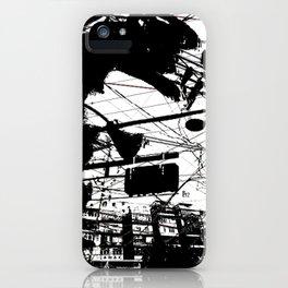 Punk in the rain 3 iPhone Case
