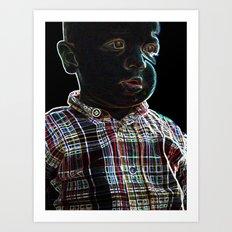 Acid Baby Art Print