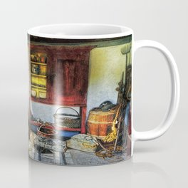 Old Fishermans Hut Coffee Mug