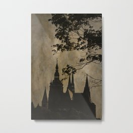 Mysterious Prague Metal Print