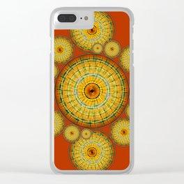 Copernicus, Descartes, and the Mayan Corn Calendar Clear iPhone Case