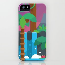 Humid Sunsets iPhone Case