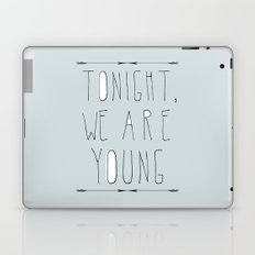 We Are Young (grey & black version) Laptop & iPad Skin