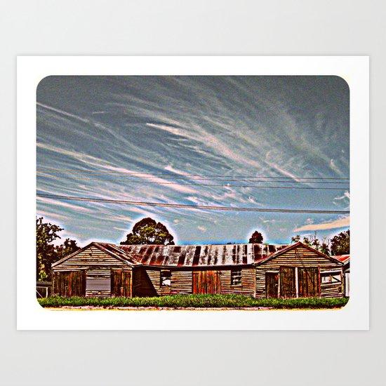 Deserted - HDR Art Print