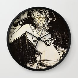 Outlaw Wall Clock