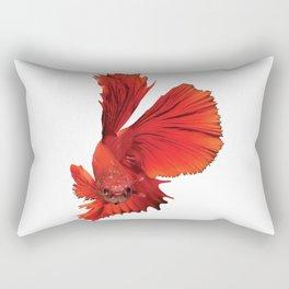 Siamese Fighting Fish Rectangular Pillow