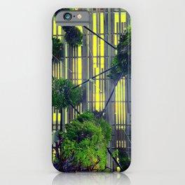 Miami urban trees iPhone Case