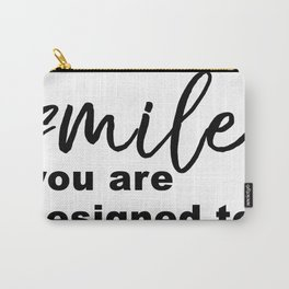 Designed to Smile Carry-All Pouch