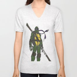 Ninja Turtles Donatello Unisex V-Neck