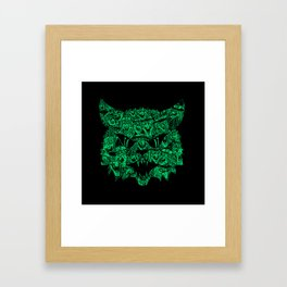 Kitty Witches Framed Art Print