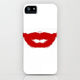 Lipstick Smudge on Tissue iPhone Case