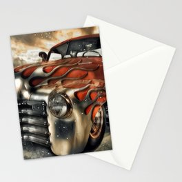Old Muscle Fenders Stationery Cards