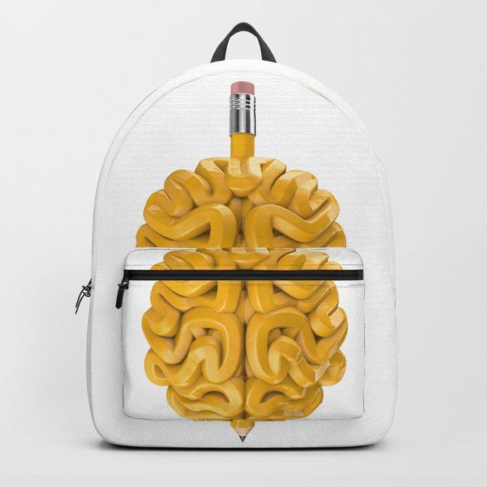 Pencil Brain Backpack