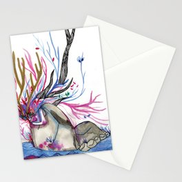 The nature woman Stationery Cards