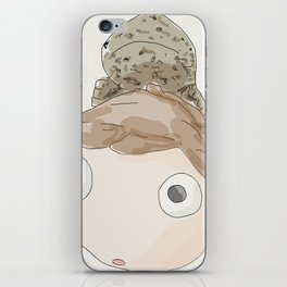 DekaDeka & DekaSan (Ponyo and Salamander) iPhone Skin