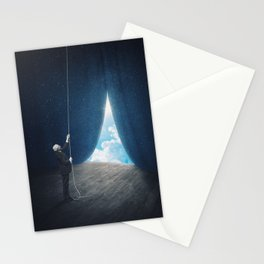 Let There Be Light Stationery Cards