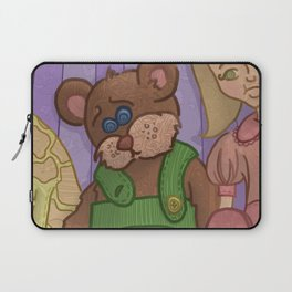 Corduroy: The Buttonless Bear Laptop Sleeve