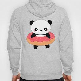 Kawaii Donut Panda Hoody