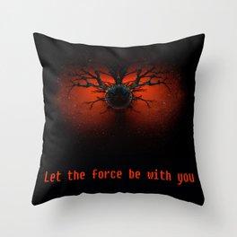 Tinyplanet Throw Pillow