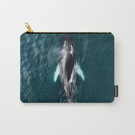 Humpback Whale in Iceland - Wildlife Photography Carry-All Pouch