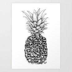 Tropical Death Art Print