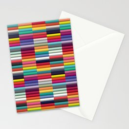 Accordion Fold Series Style J Patchwork Stationery Cards