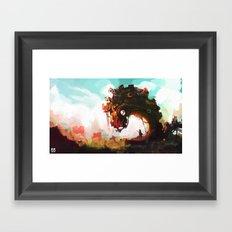 Borderline Framed Art Print