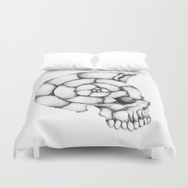 sea skull Duvet Cover