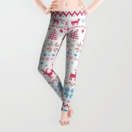 Reindeer and Christmas  Leggings