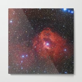 Star Formation Region Gum 41 Metal Print
