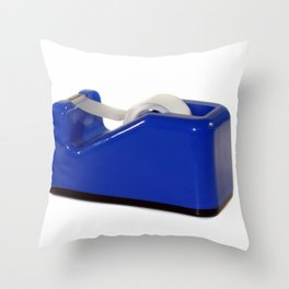 Tape Dispenser Throw Pillow