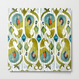 Balinese Pattern 09 Metal Print