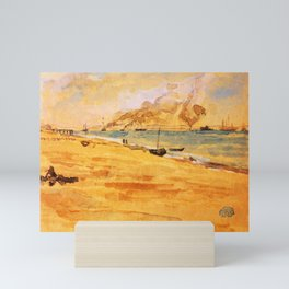 Study For Mouth Of The River 1877 By James Mcneill Whistler | Reproduction Mini Art Print