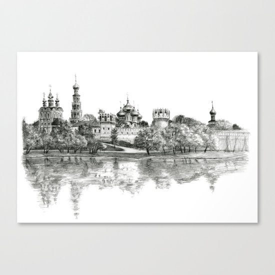 Novodevichy Convent G2010-005 Canvas Print