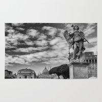 rome Area & Throw Rugs featuring Rome by unaciertamirada