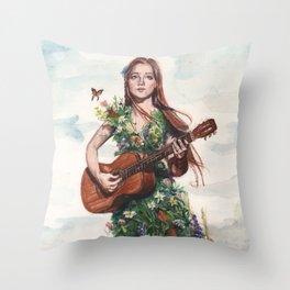 Song Throw Pillow