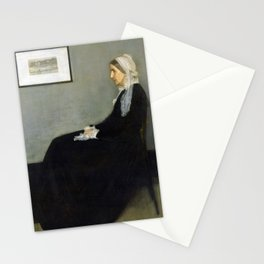 Arrangement in Grey and Black No.1 (Whistler's Mother) Stationery Cards