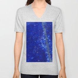 Lapis Lazuli Unisex V-Neck