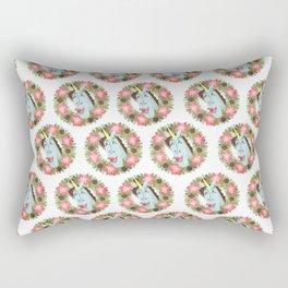 Merry Unicorny Christmas Rectangular Pillow