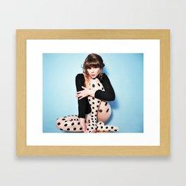 Ms. Baker 1.0 Framed Art Print