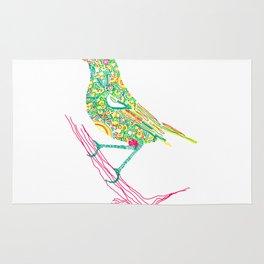 Birds sitting on branch Rug