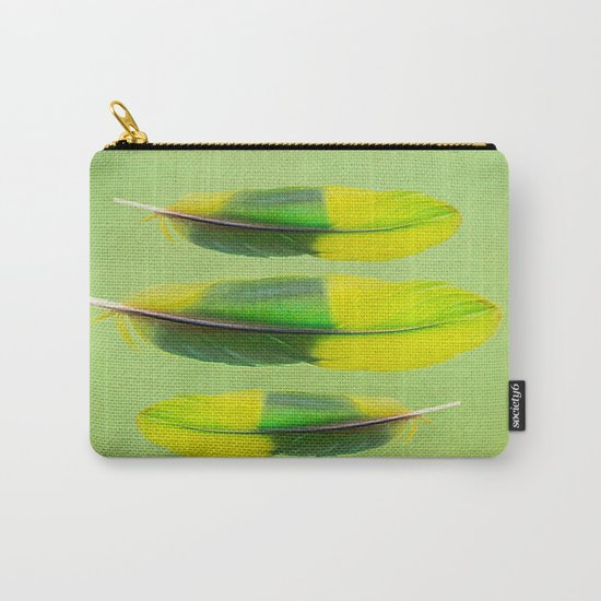 FEATHER FEATURE Carry-All Pouch