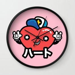 Kokoro - Love Girl Wall Clock