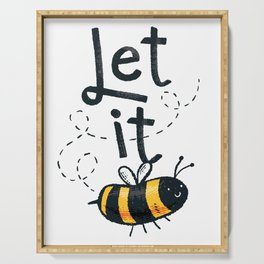 Let it Bee Bee Serving Tray