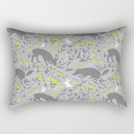 Folky Forest Rectangular Pillow