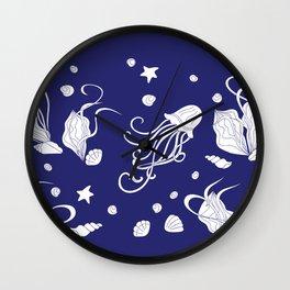 Deep sea life Wall Clock